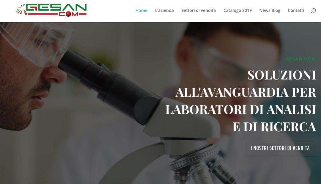 Online il nuovo sito web Gesan Com